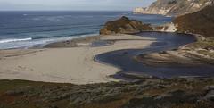 Little Sur River (San Francisco Gal) Tags: bursur littlesurriver rivermouth ocean pacific sand wave river water