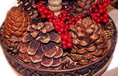 Dekoration | Decoration (André-DD) Tags: dekoration decoration deko winter herbst schale zapfen cone pinie pine pinecone fircone
