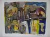 mike esson 2011 pitigliano art show 2 (mike.esson) Tags: mike esson pitigliano tuscany abstract painting collage mixed media expressionism modern fine art contemporary umeni malba malby kunst
