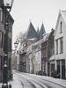 Prinsenstraat en Koornmarktspoort, Kampen (Gerrit Veldman) Tags: kampen overijssel nederland netherlands koornmarktspoort sneeuw snow winter straat street stad city olympus epl7