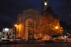 Immagine notturna Chiesa di San Giovanni Battista a Calcinaia (Foto Renato Camilli) (comunecalcinaia) Tags: chiesa san giovanni battista calcinaia foto cammilli