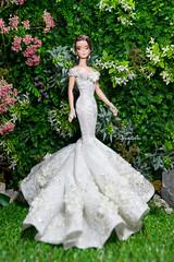 OOAK SILKSTONE '' CAMELLIA LADY '' by Aquatalis (AlexNg & QuanaP) Tags: ooak silkstone lady by aquatalis one a kind doll set available etsy wwwetsycomshopaquatalis makeover quanap gown alexng