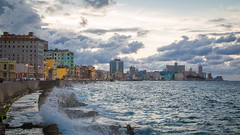 Malecón at blue hour (Seval Aydoğan) Tags: malecón havanna habana havana cuba kuba