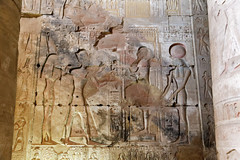 Relief of Rameses II Before Ptah (Chris Irie) Tags: rameses abydos egypt temple setii ramesesii relief