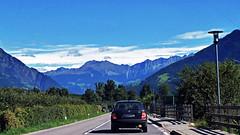 on the road to Plaus (kurecikamen) Tags: plaus italia italy italien itálie sudtirol tirol mountains cliffs sunny naturno nature naturns road car dolomiti sky travel alps alpen altoadige bolzano bozen outdoor