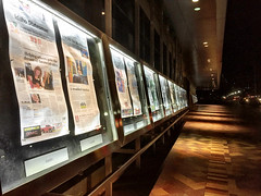 Newseum Headlines (IamJomo) Tags: headlines streetphotography washingtondc frontpages newspapers newseum