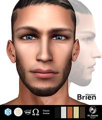 /Mr.Ronnie/ facehair Brien (/Mr.Ronnie/ Style Shop) Tags: catwa catwabento facehair beard brien man style sexyman