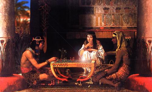 "Senet - Lujoso sistema de objetos lúdicos obsequio del dios Toht a la faraona Nefertari • <a style=""font-size:0.8em;"" href=""http://www.flickr.com/photos/30735181@N00/32399619361/"" target=""_blank"">View on Flickr</a>"