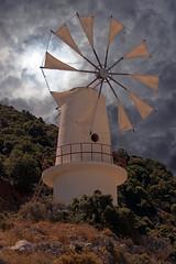 Lasithi elevation - Crete (PLADIR) Tags: lasithielevation crete kreta hochebene windmühle windmill sky clouds wolken griechenland greek berg hill outdoor