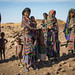 Portrait of an Issa tribe family, Afar region, Yangudi Rassa National Park, Ethiopia