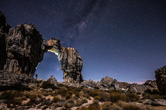 Wolfberg Arch under the milky way (Justin Knott) Tags: