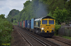 Shawford 66566 (davidhann34016) Tags: shed maritime southampton ditton freightliner class66 shawford 66566