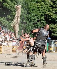 Arde Lucus ( Lugo 2015 ) (Luis Diaz Devesa) Tags: armas lucha escudo espadas tridente gladiador