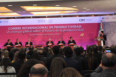 Global dialogue on the future of productivity: Towards an OECD productivity network (Organisation for Economic Co-operation and Develop) Tags: angel mexico luis network productivity oecd minister dialogue global finance caso cumbre productividad gurria enriquepeanieto videgaray