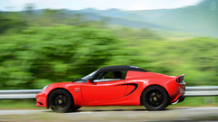 Lotus Elise S3 CR in Hong Kong (Ben Molloy Automotive Photography) Tags: red hk motion cup car photography ben lotus elise automotive hong kong vehicle panning s3 molloy cr racer