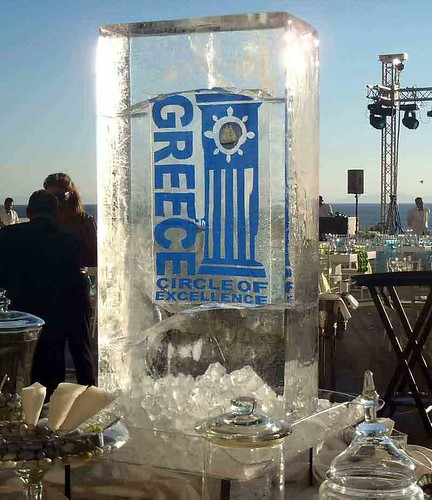 Custom Design of Ice Sculpture