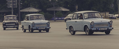Trabant -Trabi's, Berlin, Germany