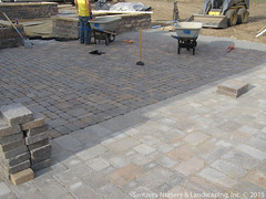 Permeable Pavers Installation with Partial Exfiltration into Rain Garden (Switzer's Nursery & Landscaping) Tags: minnesota sand landscaping patio base farmington northfield paver burnsville pavers eagan switzers concretepavers lakeville switzer rosemount landscapedesign designbuild subbase hardscaping permeable icpi paverpatio mnla southmetro apld hardscapedesign theartoflandscapedesign switzersnurserylandscaping minnesotanurserylandscapeassociation interlockingconcretepavementinstitute snlscapes associationoflandscapedesigners compactedbase edgerestraint jointsand permeablepaversinstallationwithpartialexfiltrationintoraingarden
