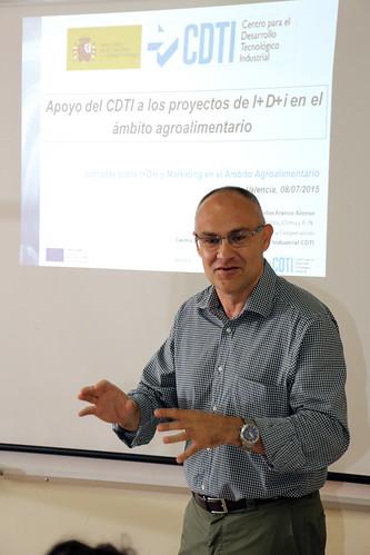 Jornada de gerentes: I+D+i y marketing agroalimentario. Valencia (08-07-2015)