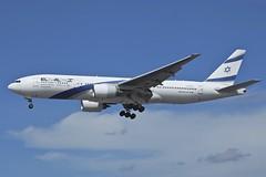 4X-ECC Boeing B772 LHR 04May2015 (Citation Ten) Tags: ely lhr b772 4xecc