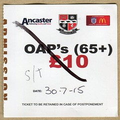 Bromley FC v Crystal Palace ticket (The Wright Archive) Tags: 30 football crystal july ticket palace friendly match fc thursday versus programme bromley ancaster preseason 2015 bromleyfootballclub