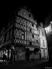 Colombages (Fréd.C) Tags: dijon black white town street ville bourgogne colombages old rue ombres night nuit cross