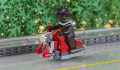 Kebos riding his Honda Reptilia(01) (F@bz) Tags: sf space speederbike lego moc