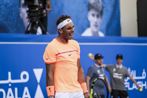 "Rafael Nadal losing his patience against David Goffin • <a style=""font-size:0.8em;"" href=""http://www.flickr.com/photos/125636673@N08/31162055434/"" target=""_blank"">View on Flickr</a>"