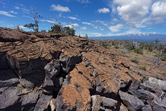 Cracked (marko.erman) Tags: lava field landscape tree kīlauea popular travel sun sunny hawaii island nature fire heritage eruption mineral horizon volcano cracked sky clouds unesco worldheritagesite unitedstates usa wideangle uwa sony hawaiʻivolcanoesnationalpark