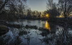 Amanece un nuevo año (Alcides Jolivet) Tags: river rio tormes salamanca dawn frío