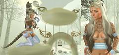 Up in the clouds (eloen.maerdrym) Tags: eloensotherworld releases wintersolistice izzies cureless unitedandkind cerberus cx mint carolg kinky kinkyevent promagic crossroads gacha catwahead theavenue raindale evolove freebies groupgift cherryhouse winter cloud christmas arcade