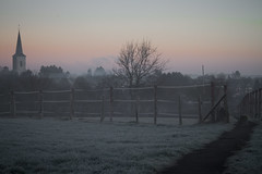 Dezembermorgen (Sandro Ramscheidt) Tags: minolta50mmrokkor canoneos7d raeren morning kalt belgien