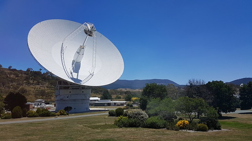 Main satellite tracking dish at Tidbinbilla