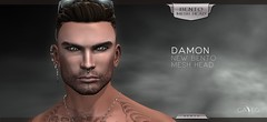 The New GA.EG Damon BENTO Mesh Head is Now Available!!! (Petite Chouky) Tags: gaeline elleetgance gaeg mesh damon bento animation emotes sl second life