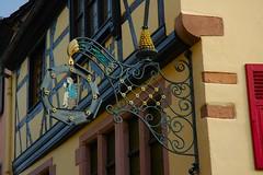 ... bar pasticceria ... insegna # 3 (antosti) Tags: francia alsazia kaysersberg insegna metallica bar pasticceria colorata nikon d70s