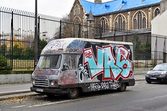 'Grafitti' Boulevard de Ménilmontant Parijs