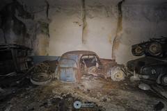 """The smelly quarry"" (RomarioPhotography) Tags: urban urbex abandoned decay worldwar nikon nikond7200 tokina tokina1116 rust rotten cars citroen peugeot renault"
