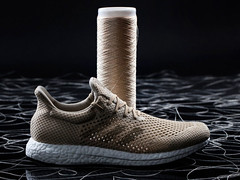 Biodegradable Shoes Made From Artifical Spider Silk (chooselife.me) Tags: biodegradable fashion innovation shoes spidersilk