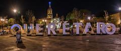 2016 - Mexico - Querétaro - Plaza de Los Fundadores (Ted's photos - For Me & You) Tags: 2016 cropped mexico queretaro santiagodequeretaro tedmcgrath tedsphotos tedsphotosmexico vignetting sign templodelasantacruz templodelasantacruzqueretaro queretarotemplodelasantacruz plazadelosfundadores plazadelosfundadoresqueretaro queretaroplazadelosfundadores nikon nikonfx nikond750 nightscene nightlighting streetscene street plaza cross unesco unescoworldheritagesite