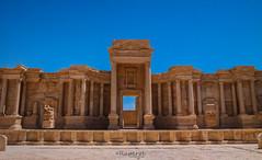 Palmyra, Teatro (raperol) Tags: palmyra siria arquitectura airelibre ciudades guerra