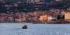 Fishing at the soft light of a cold sunset (..:: roberto ::..) Tags: santerenzo sea sunset winter lerici liguria italia it