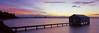 Eve's first sunrise (Martin Canning) Tags: 617 australia crawley crawleyboatshed epsonv700 fuji fujig617 g617 martincanning martincanningcom matildabay perth westernaustralia boatshed film panorama panoramic sunrise velvia velvia50