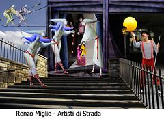 CORSO DI FOTORITOCCO - MIGLIO (unitrecollegno) Tags: unitre collegno corso allievocorsofotoritocco miglio renzo artisti strada