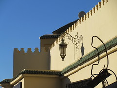Lamp and wall at Place Rcif, Fez, Morocco (Paul McClure DC) Tags: fez morocco fès almaghrib dec2016 medina feselbali maroc historic architecture