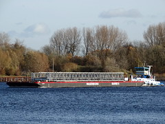 WAGENBORG BARGE 6 (Dutch shipspotter) Tags: pontoons