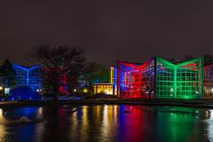"""""""Winterlichter"""" Palmengarten, Frankfurt a.M. (m.gallenkamp) Tags: winterlichter frankfurt langzeitbelichtung nacht citynightlights nightscapes night colorfullights licht"""