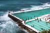 swimming with the waves 与浪共舞 (nzfisher) Tags: swim swimming swimmingpool waves pool sea seascape landscape sydney nsw australia bondi bondibeach 50mm canon lee bigstopper