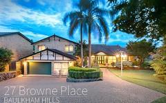 27 Browne Place, Baulkham Hills NSW