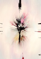 A Single Tree (lensletter) Tags: icolorama stackables tree pink nature contemporaryart modern texture
