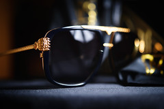 """Paws Up"" (jonashellsen) Tags: gold fashion highfashion sunglasses eyewear glasses commercial productphotography nikoncls"